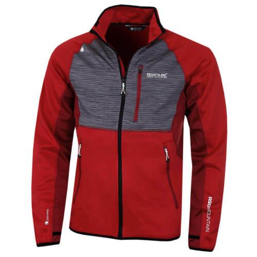Regatta Mens Yare Softshell Midlayer Stretch Thumb Loops Jacket 78/% OFF RRP