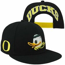 "Nike Oregon Ducks Players True Snapback BLACK Hat ""Free Shipping in USA"""
