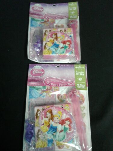 Hallmark Disney Princess  Party Favor Pack 48PC  Value