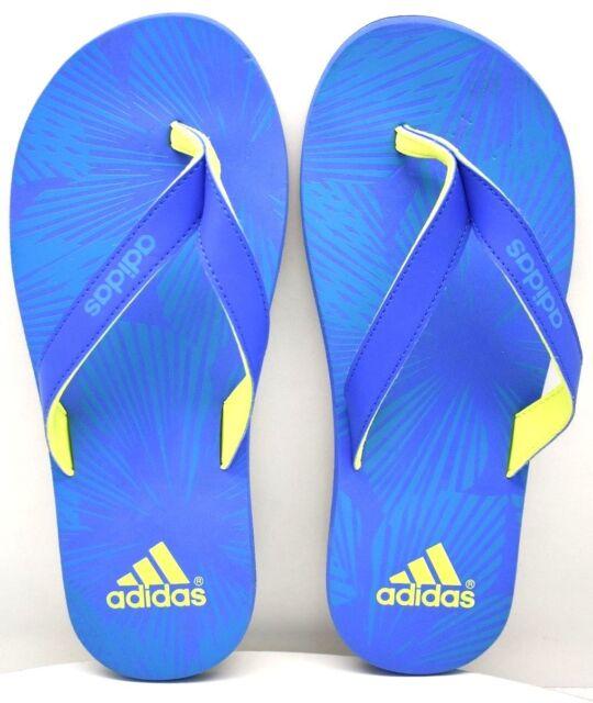 ec7cc73dc65e Adidas Eezay Gr Flip Flop B33764 Blu Solar Grn US Size 7 FREE SHIPPING  BRAND NEW