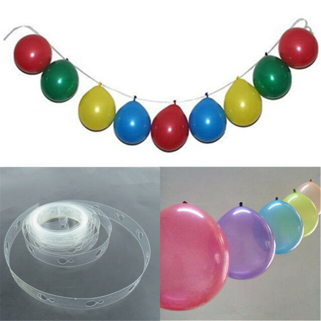 5 M Balloon Decorating Strip Connect Chain Plastic DIY