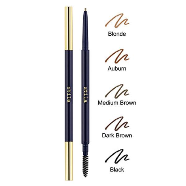 Stila Stay All Day Precision Glide Brow Pencil Dark Brown 0001 Oz