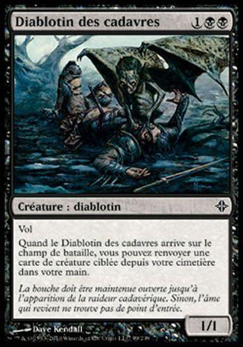 ▼▲▼4X Diablotin des cadavres Cadaver Imp ELDRAZI #099 FRENCH MTG