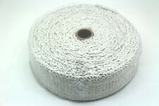 "CERAMIC FIBRE HEAT WRAP TAPE EXHAUST MANIFOLD, 2"" WIDTH, 2MM LENGTH 10M WHITE"