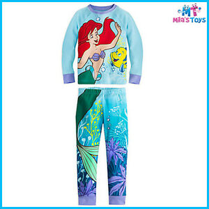 e57319572 Disney The Little Mermaid Ariel and Flounder PJ PALS for Girls sizes ...