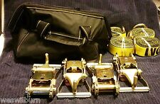 BA Products 4 ratchet finger hk 4 yellow lasso strap Century wrecker bag Towing