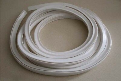 Vespa Side cowls panels White rubber trims VNA VNB VBA VBB VBC VLB P PX V8008