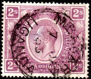 1922 Kenya & Uganda Sg 88 2s dull purple Good Used
