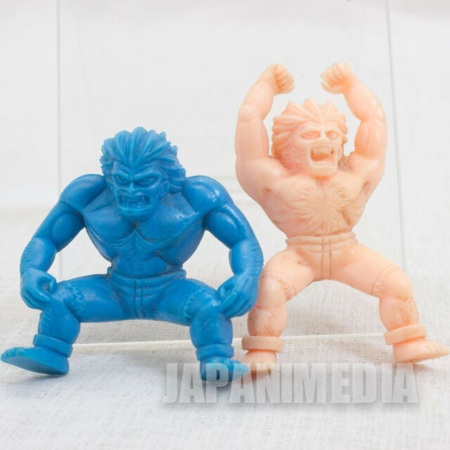 Street Fighter 2 Mini Un-painted Rubber Figure Kit Blanka 2pc Set Capcom