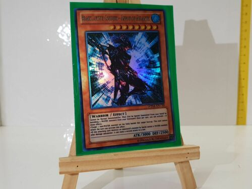 Yugioh Orica Black Luster Soldier-Envoy of Altantis HOLO dieux Custom