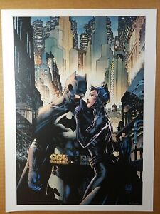 Batman Catwoman Hush 15th Anniversary Dc Comics Poster By Jim Lee Ebay