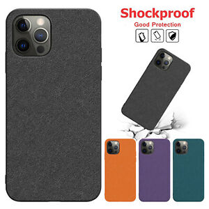 For iPhone 12 Mini 11 Pro Max XR XS SE 7 8 Plus Shockproof Soft Matte Case Cover