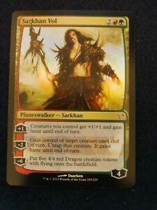 MTG-Sarkhan-Vol-FOIL-Modern-Masters-NM-Near-Mint