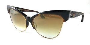 2abeabba028df Dita Temptation 22029-B-TRT-GLD-61 Tortoise Brown 18K Gold   Brown ...