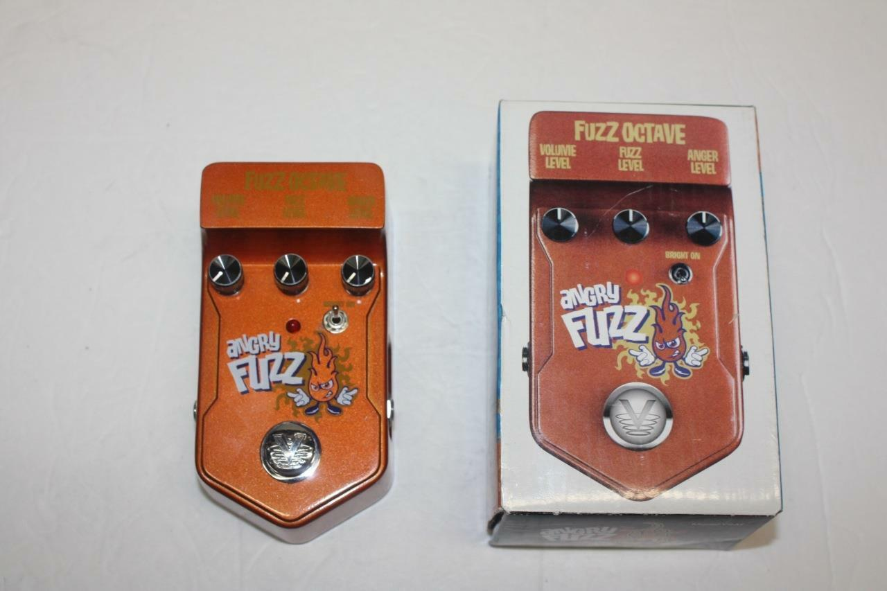 Angry Fuzz Fuzz Octave Pedal Made by Visual Sound Model V2AF