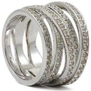 e32e524881892 Details about Swarovski Spiral Ring Size 55/7M 1156305 Bargain Crystal  Jewelry Fashion No Box