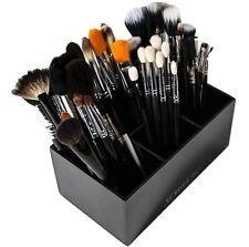 Acrylic Makeup Brush Holder | 6 Slot Makeup Organizer Storage for Cosmetics