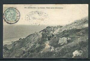 """PréCis Obitération """" Sainte Adresse Kermesse """" Sur Carte Postale En 1905 - Réf M8"""