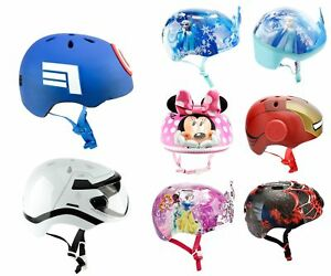 Bell-Kinder-Fahrradhelm-Schutzhelm-Helm-Disney-Eiskoenigin-Spiderman