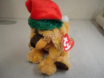 TY Beanie Baby Jingle Pup The Christmas Dog 2001