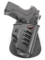 Fobus Holster Belt Right Paddle Beretta Inox M9 92a1 92 Compact Rail Inox 9mm