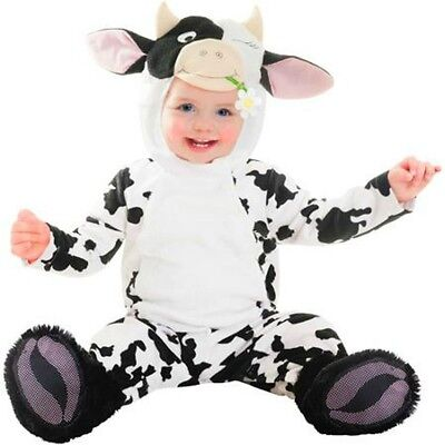 Baby Cow Halloween Costume 6-12 months Cute Infant Boys Girls