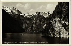 CPA-AK-Konigssee-mit-Falkenstein-St-Bartholoma-GERMANY-878976