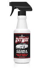 VINYL WRAP CLEANER w/ UV PROTECTION  Rat Wax No Shine, import, euro, exotic