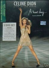 2 DVD SET CELINE DION LIVE IN LAS VEGAS SEALED NEW