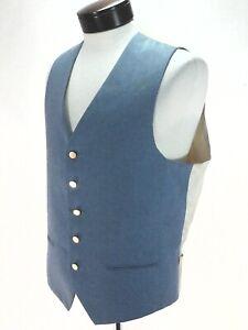 LEVI-039-S-PANATELA-Sportswear-Vest-Light-Blue-Vintage-70s-Western-Men-039-s-M-L-RARE