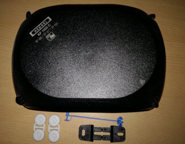 WISKA Abzweigkasten COMBI 308 BK Abzweigdose 4qmm Kabelabzweigkasten 85x85x51mm