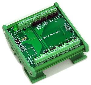 DIN-Rail-Mount-Screw-Terminal-Block-Adapter-Module-For-Arduino-UNO-R3