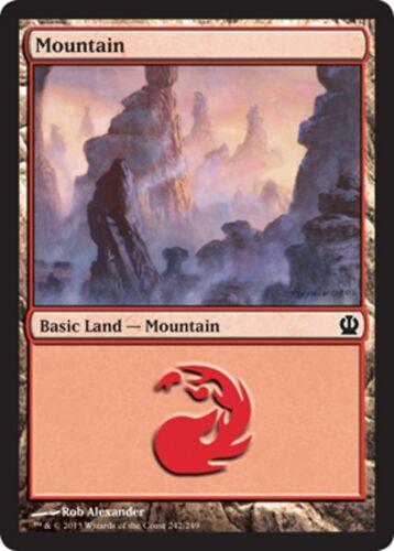 FR//eng foil 5x mountain-mountain mtg magic * mrm