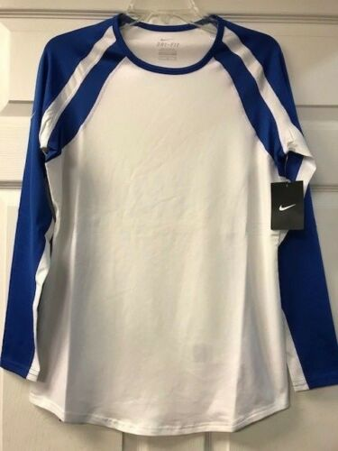 Volley over Manches Longues Blanc Nike Warrior Pull Cour ball Femmes Drifit qwYzA