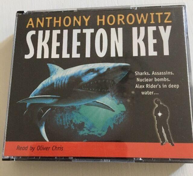 SKELETON KEY-ALEX RIDER -ANTHONY HOROWITZ-AUDIO BOOK - 6 CDs UNABRIDGED