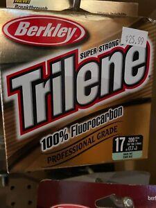 Trilene  flourocarbon 17#- Green rint