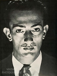 1929 MAN RAY 12X16 Matted Vintage Photo Engraving SALVADOR DALI Surrealism Art