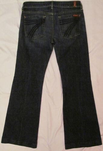 Wash 28 All Flare Tasche Dojo Dark Mankind 7 Jeans For AYTPzz