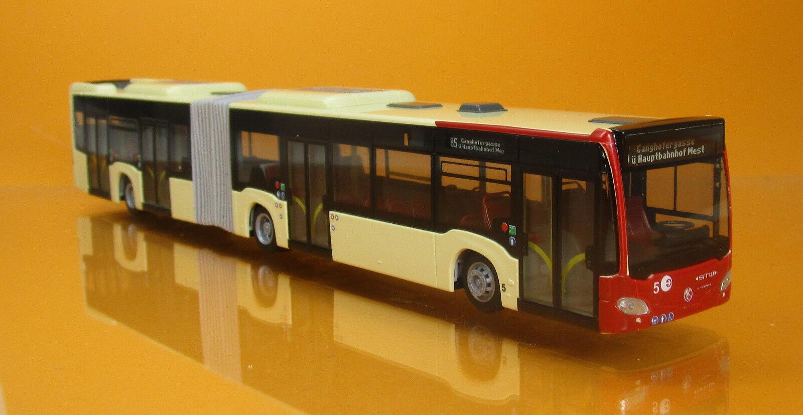 Rietze 73622 Mercedes Benz Citaro G'15 Stadtwerke Klagenfurt Scale 1 87 Nouveau neuf dans sa boîte
