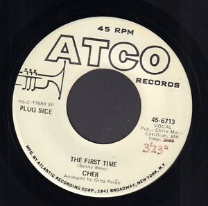 CHER-The-First-Time-1969-US-PROMO-VINYL-SINGLE-7-034