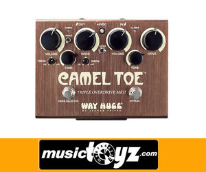 Way-Huge-Camel-Toe-MkII-Triple-Overdrive-Guitar-Pedal-Auth-NEW