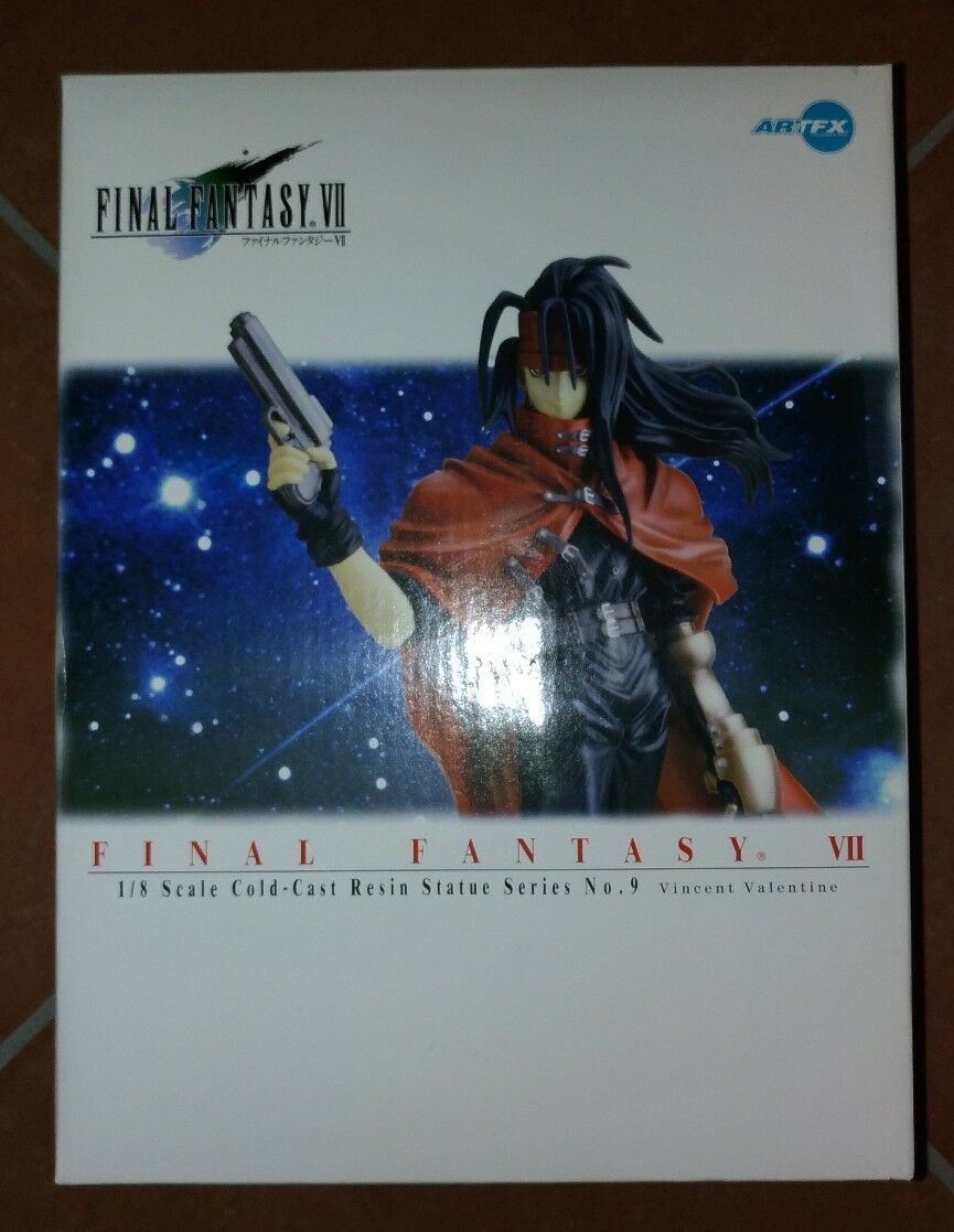 FINAL FANTASY VII VINCENT VALENTINE n.9  NEW KOTOBUKIYA  ARTFX 1 8 IN ITALIA