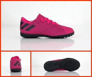 Dettagli su ADIDAS scarpe calcetto bimbo turf NEMEZIZ 19.4 TF F99936 FUCSIANERO agosto 2019