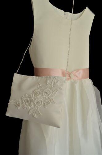 Täschchen Tasche WAHL creme zu Kommunionkleid Brautjungfer Brautkleid neu