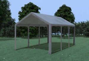 3x6 m partyzelt festzelt bierzelt pavillon stabil pe grau