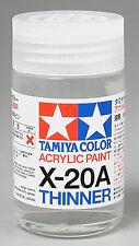 Tamiya THINNER Acrylic Hobby Model Paint Acrylic X20A Thinner 46ml 81030