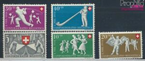Schweiz-555-559-postfrisch-1951-Pro-Patria-7387779