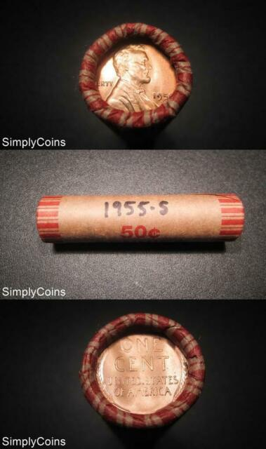 Three 50 coin Wheat Penny Rolls See Desc FREE US SIPPING.