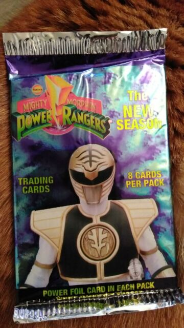 Mighty Morphin Power Rangers Trading Cards 4 Pack Lot 8 Cards Per