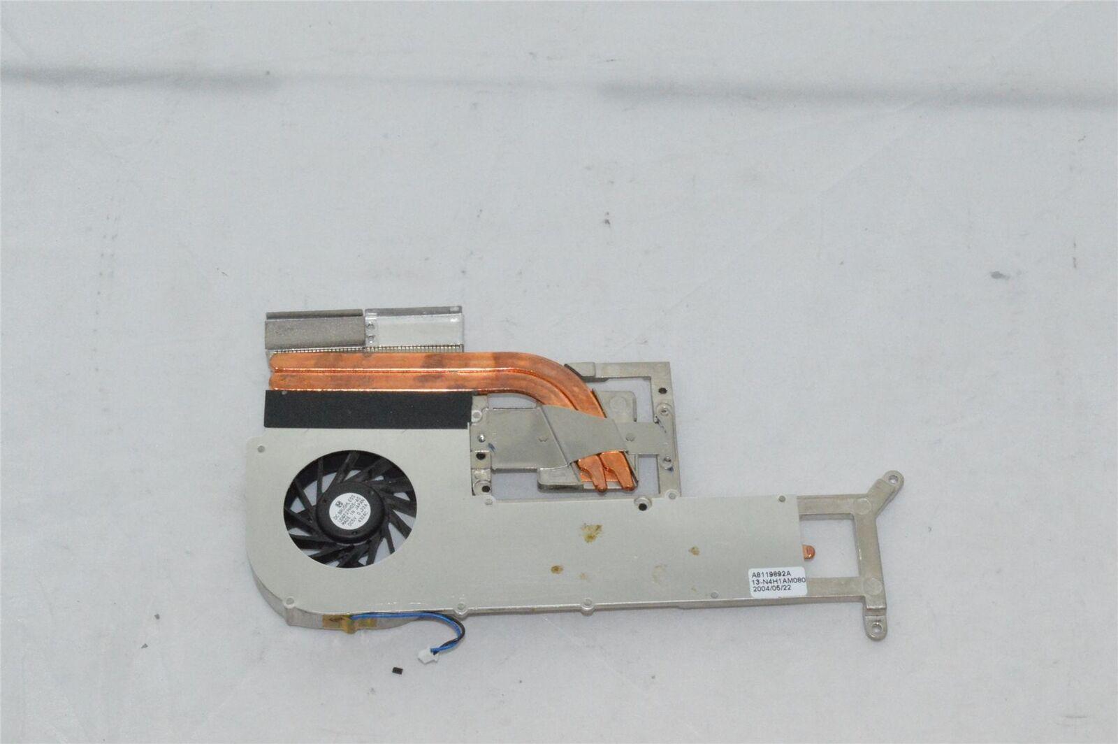 Sony Vaio PCG-8Q4M CPU/GPU Heatsink/Fan 13-n4h1am080, Used